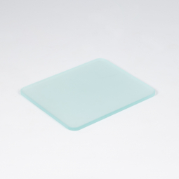 Frosted glass plate for mechanical stage