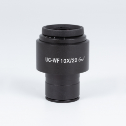 UC-WF10X/22mm, focusable with diopter adjustment