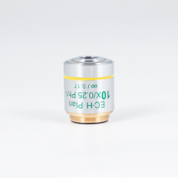CCIS® Plan achromatic Phase objective EC-H PL Ph 10X/0.25 (WD=17.4mm) -