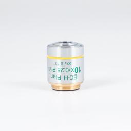CCIS® Plan achromatic Phase objective EC-H PL Ph 10X/0.25 (WD=17.4mm) -