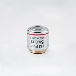 CCIS® LM Plan achromatic objective LM PL 5X/0.13 (WD=20.3mm)