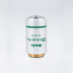 CCIS® Plan achromatic Phase objective UC Ph 20X/0.45 (WD=0.8mm), Ph2