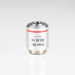 CCIS® Plan achromatic objective SC 4X/0.1 (WD=15.5mm)