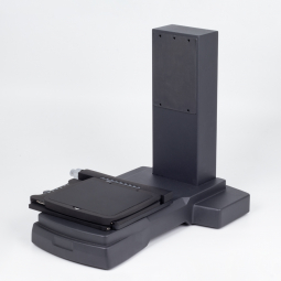 Compact footprint fixed arm stand with focusing block (20Kg rated)