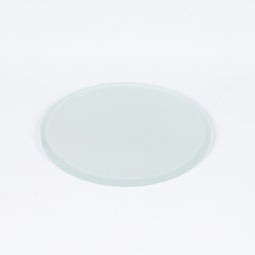 Frosted glass stage plate, Ø 80mm