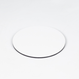 White stage plate, Ø 80mm