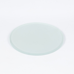 Frosted glass stage plate, Ø95mm