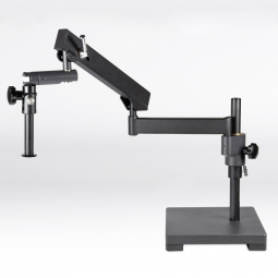 Articulating arm boom stand, 400mm column