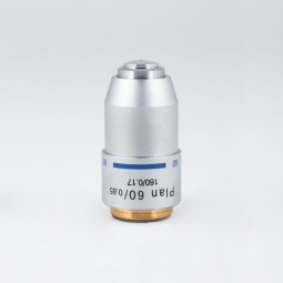 Plan achromatic objective PL 60X/0.85/S (WD=0.1mm)