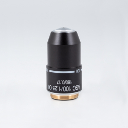 Achromatic super contrast objective ASC 100X/1.25/S-Oil (WD=0.14mm)