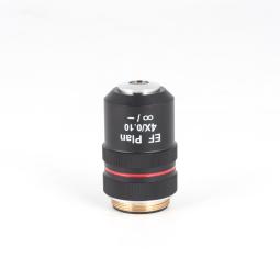 CCIS EF Plan Achromat objective 4X/0,1 (WD=6,3mm)