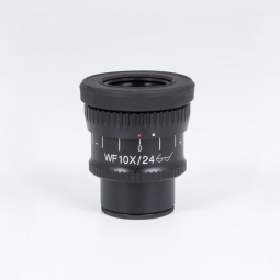 Widefield eyepiece WF10X/24mm with diopter adjustment