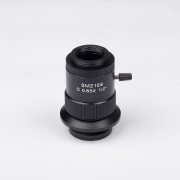 "0.65X C-mount camera adapter (focusable) for 1/2"" and 2/3"" chip sensors"