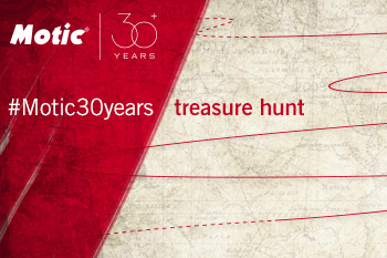 Join #Motic30years treasure hunt!
