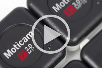New Moticam USB cameras overview video
