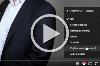 Translating the video-presentations and tutorials