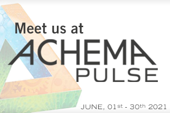 Meet us @ Achema Pulse 2021