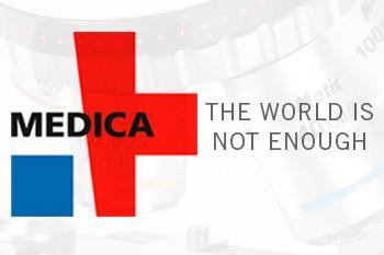 The world is not enough - Medica Exhibition 2019