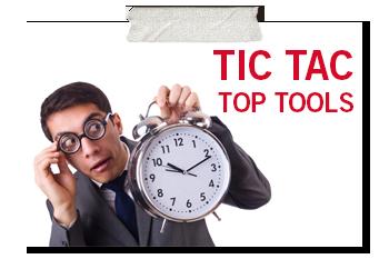 Tic Tac top tools promo