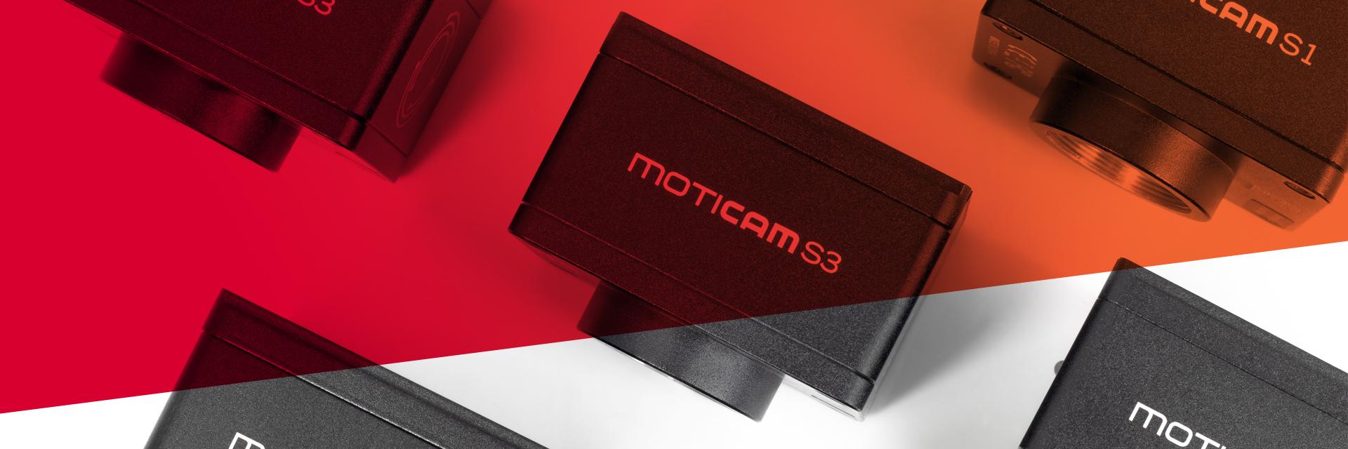MoticEurope Moticam S Series banner home
