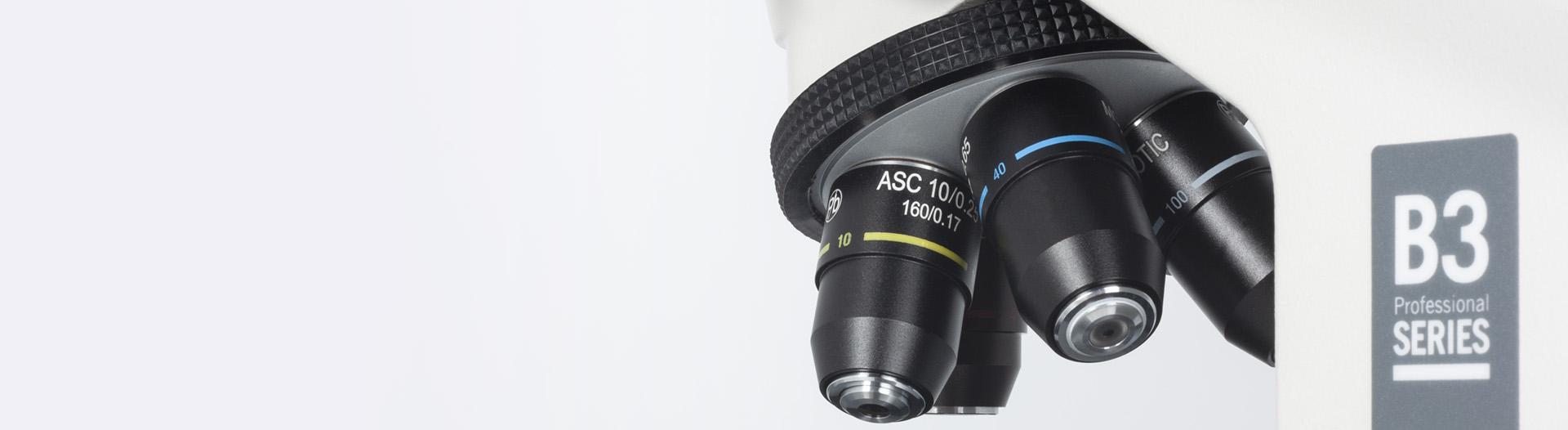 B3 microscope Optics