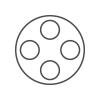 icon quadruple nosepiece Motic