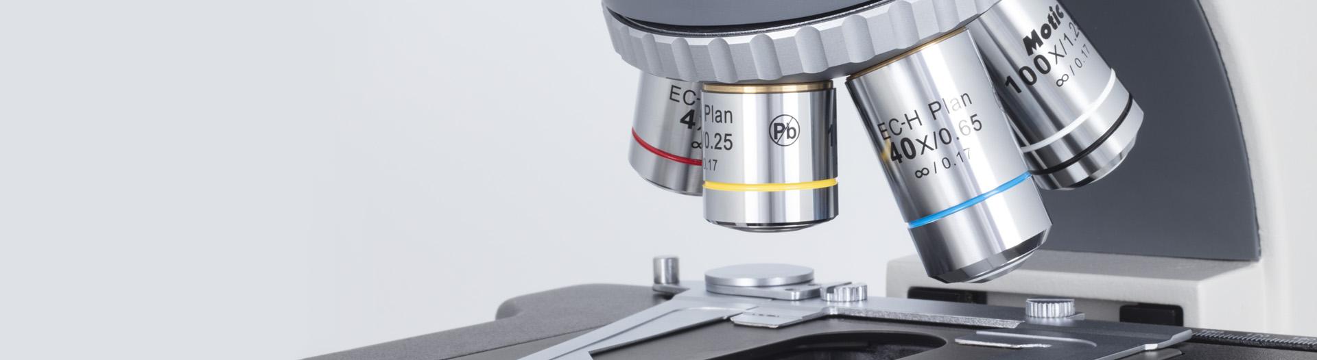 BA410E microscope Optics