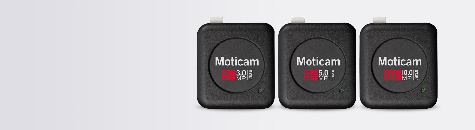 Moticam 3+, 5+, 10+ USB3.0