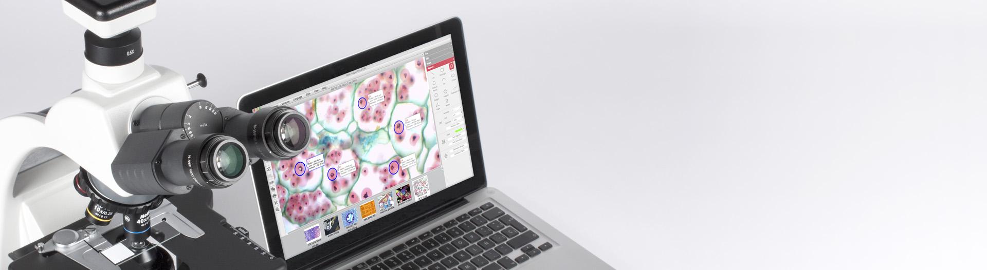 Moticam USB - Motic Images Plus 3.0 Software