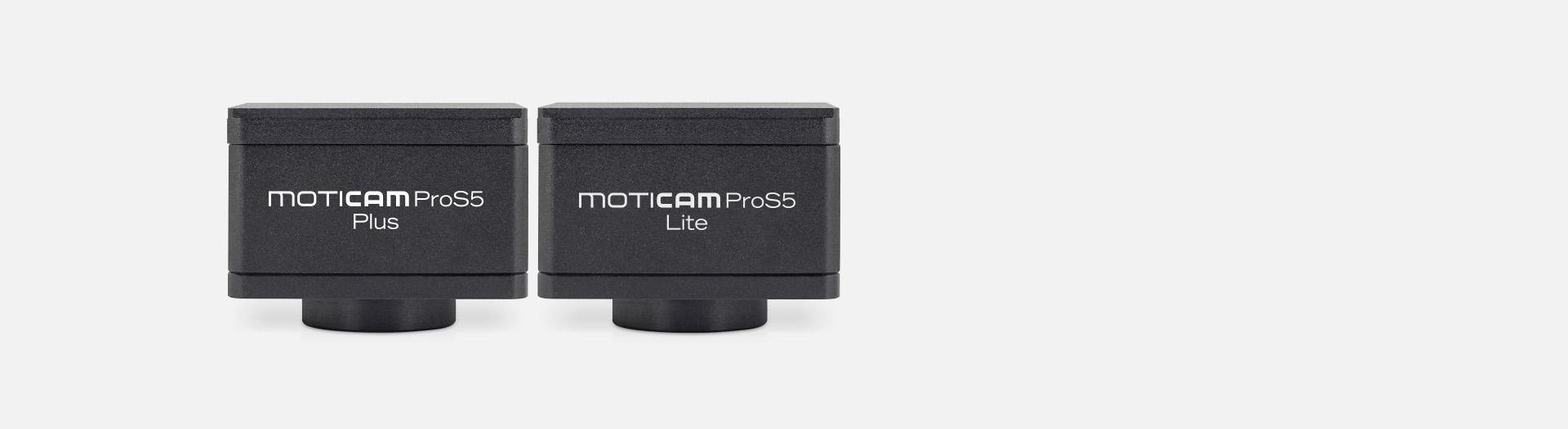 Moticam Pro S5 Lite, Moticam Pro S5 Plus