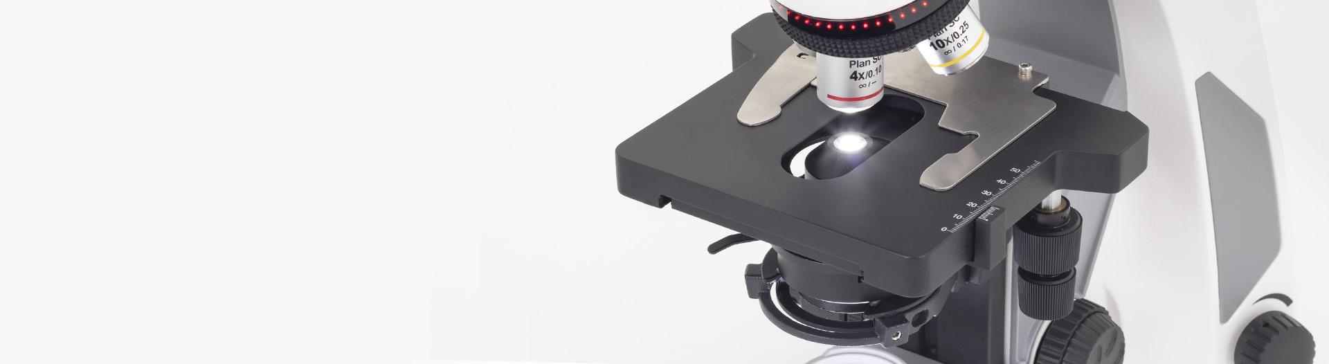 Panthera E microscope mechanics stage
