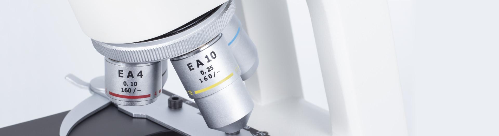 RED100 microscope optics