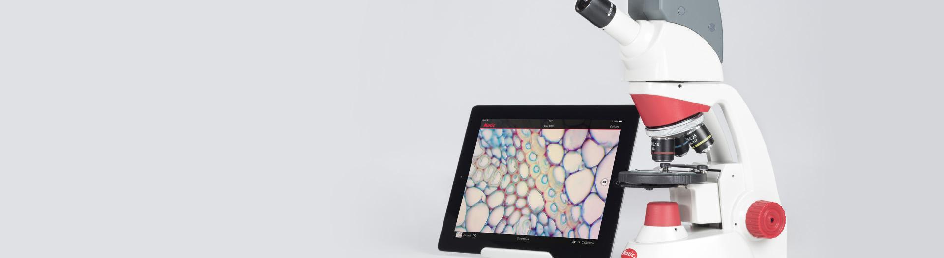 RED50X microscope wi-fi