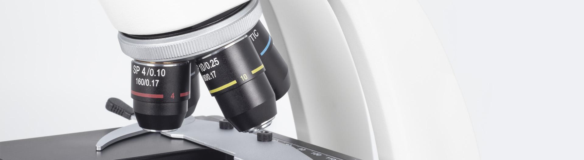 RED200 microscope optics