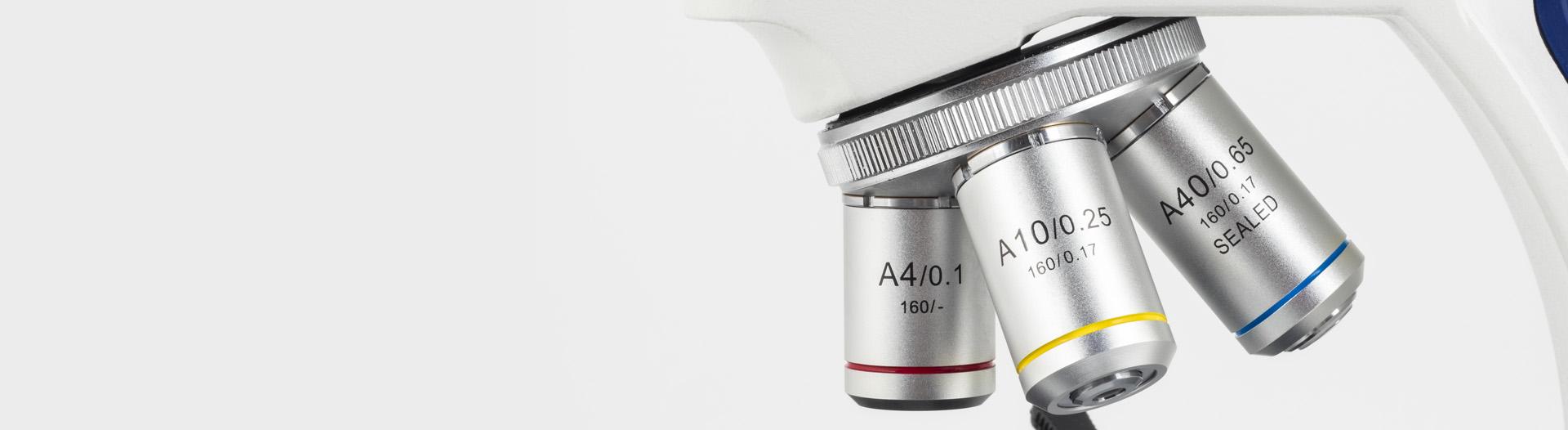 SILVER 100 microscope Optics